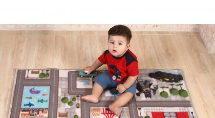 فرش بازی کودک طرح بت من