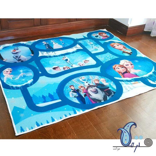 فرش بازی کودک طرح فروزن
