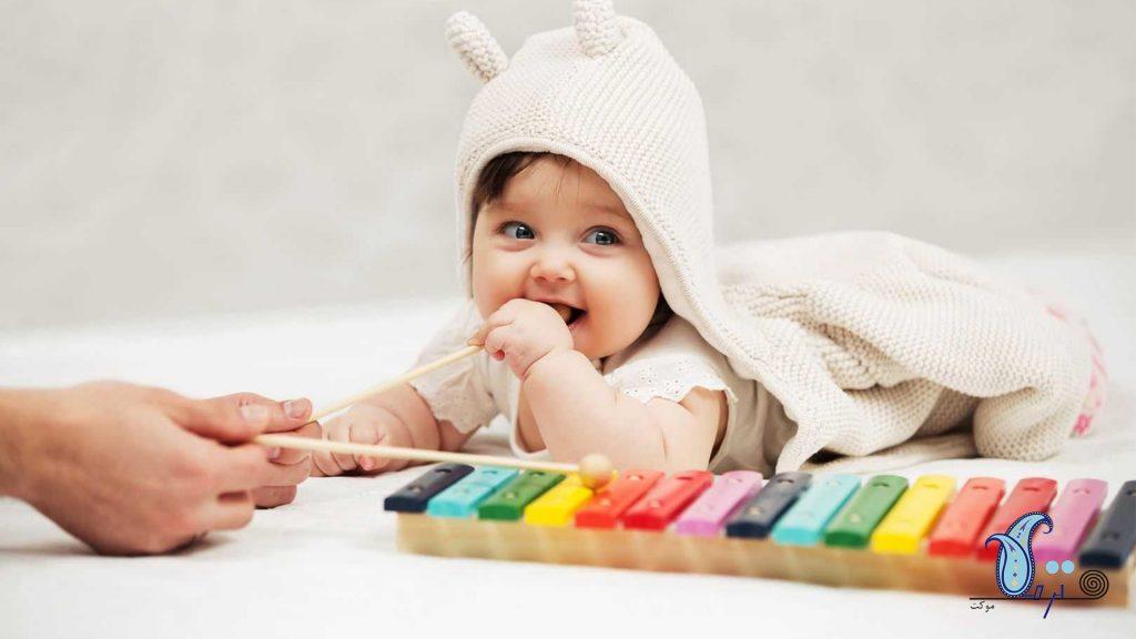 اسباب بازی مناسب کودکان زیر ۶ ماه