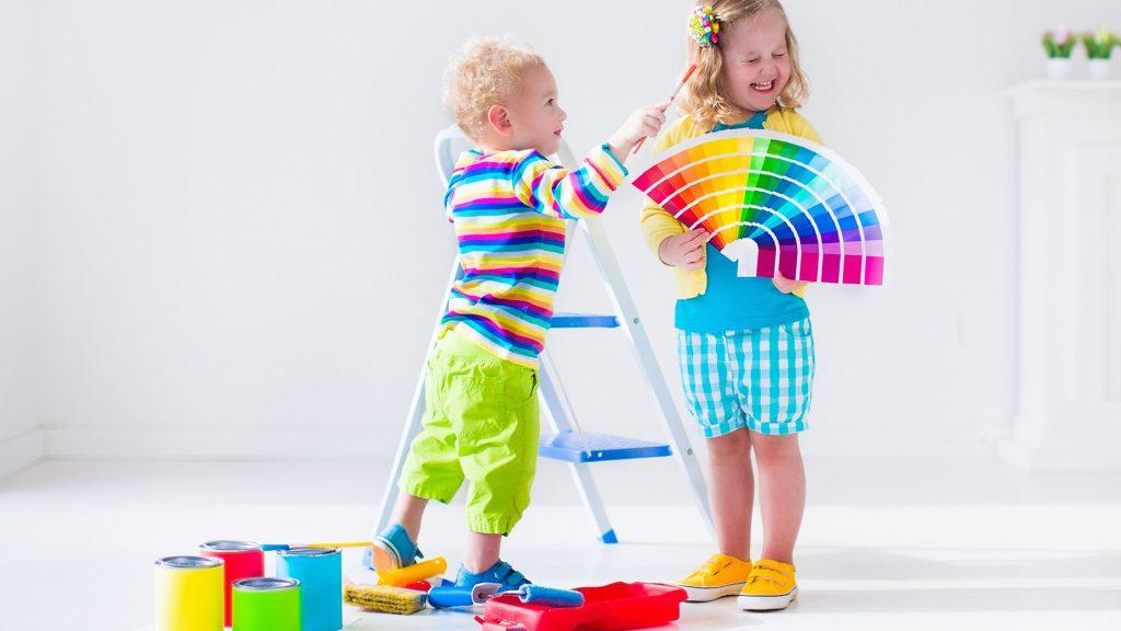 انتخاب رنگ اتاق کودک
