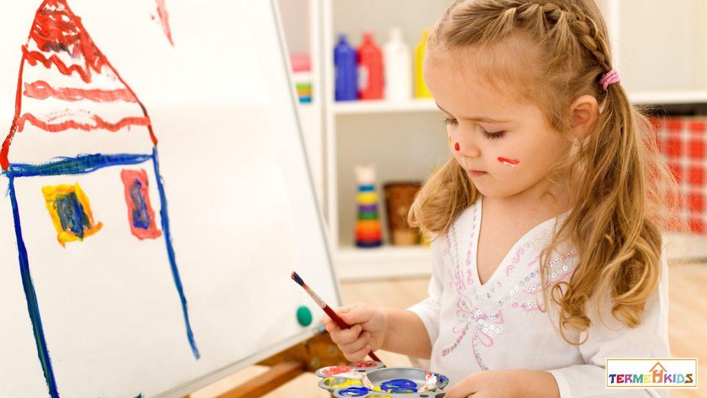 ارتباط خانه در نقاشی و حال درون کودکان