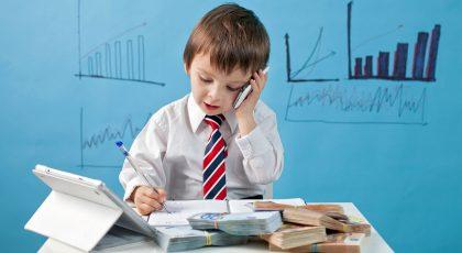 هوش مالی کودکان