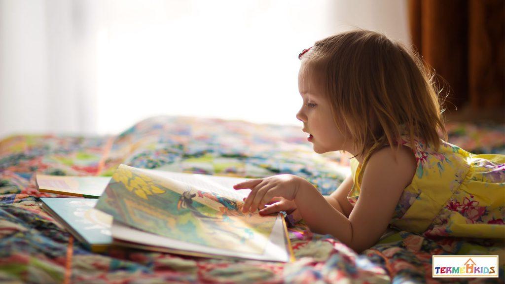 کتاب خواندن برای کودکان و افزایش دایره لغات