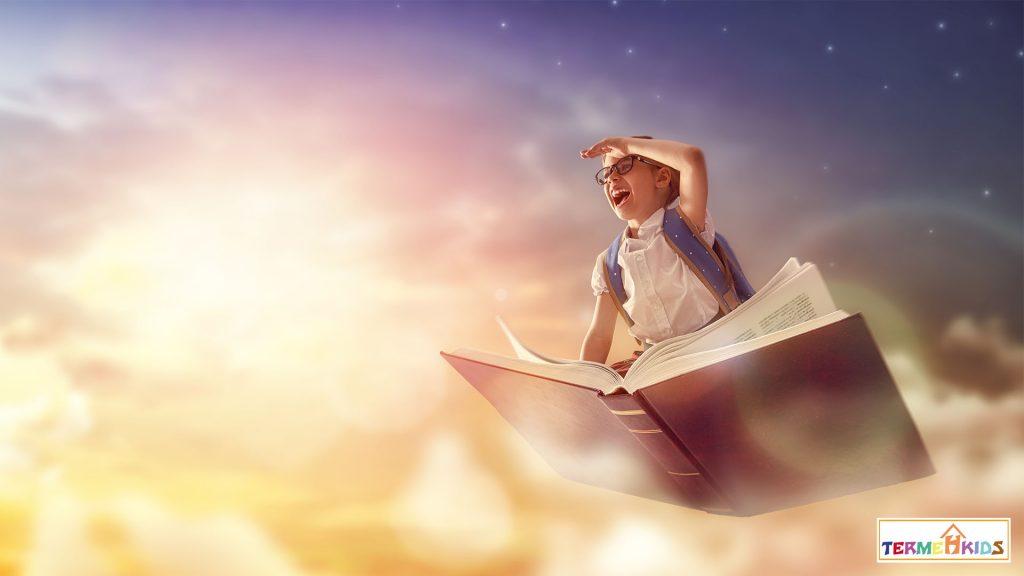 با کتاب خواندن برای کودکان به آنها بالی برای پرواز میدهید