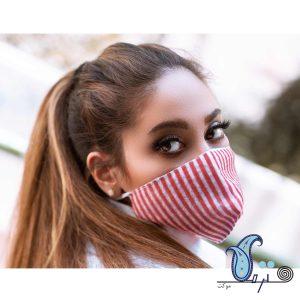ماسک سه لایه طرح کج راه- ترمه کیدز - ترمه کارپت