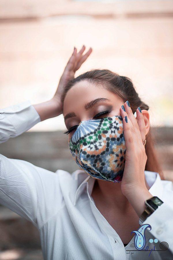 ماسک سه لایه طرح مراکشی