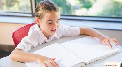 آموزش کودک نابینا